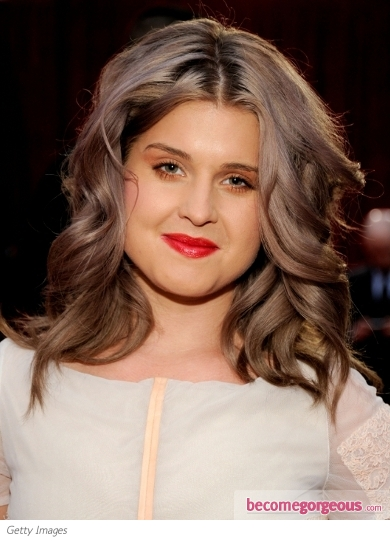 Kelly Osbourne Shoulder Length Waves