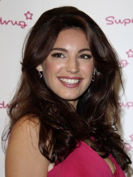 Kelly Brook Long Wavy Hairstyle
