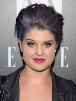 Kelly Osbourne Violet Hair Color