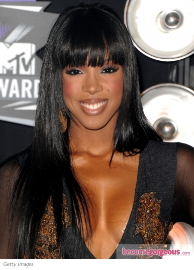Kelly Rowland's Hairstyle at the 2011 MTV VMAs