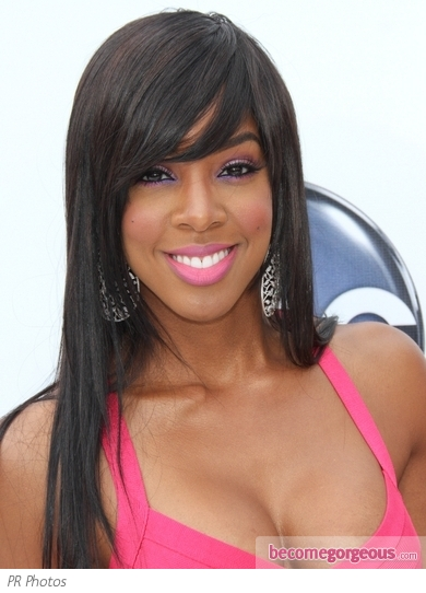 kelly rowland hairstyles. Kelly Rowland arrived to the