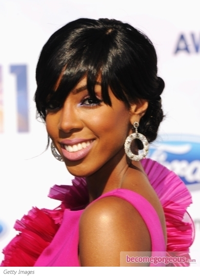 Kelly Rowland Updo 2011 BET Awards