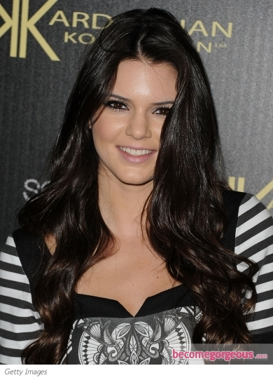 Kendall Jenner End Curls Hairstyle