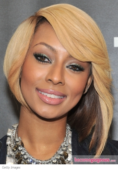 Keri Hilson Green Eye Makeup