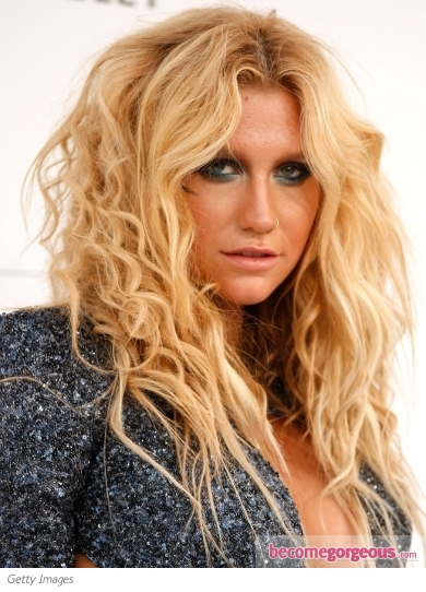 kesha take it off hair. Ke$ha hit the 2011 Billboard