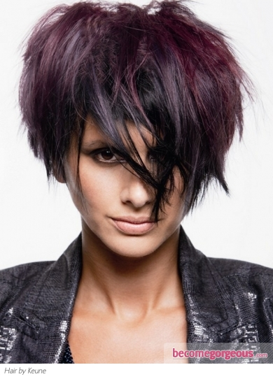 Purple Hair Highlights Idea