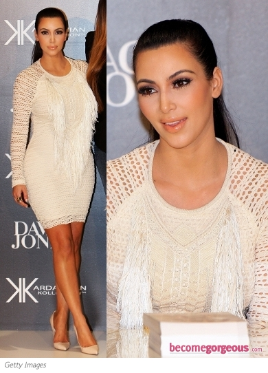 Kim Kardashian in Isabel Marant Mana Dress