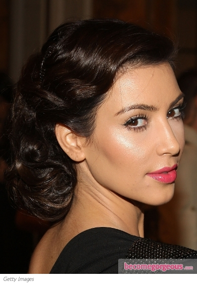 Kim kardashian natural makeup