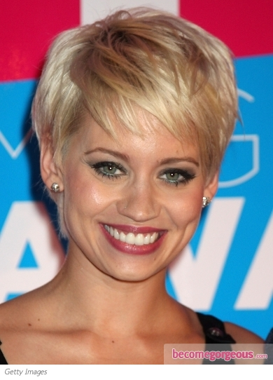 Kimberly Wyatt New Short Hairstyle
