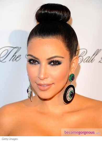 Kim Kardashian Makeup Photos