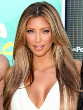 Kim Kardashian New Blonde Hair Color