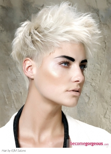Gorgeous Short Tapered Haircut