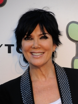 Styled to silhouette the head, Kris Jenner's cap cut hairstyle features temple-grazing pieces and a rounded crown, courtesy of interior layering. To style, mist with volumizer and blow-dry with a round brush. Oversized earrings are the perfect feminine accent when hair is this short.
