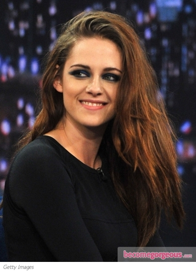 Kristen Stewart Layered Tousled Hairstyle