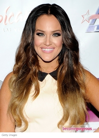 Lacey Schwimmer's Ombre Hair Color