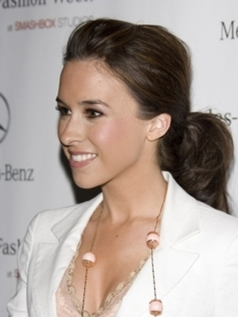 Lacey Chabert Chic Ponytail