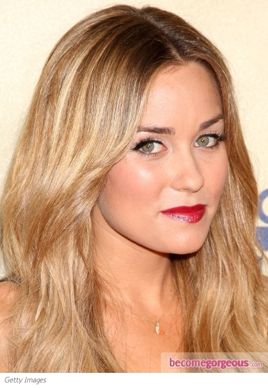 Lauren Conrad Red Lip Makeup