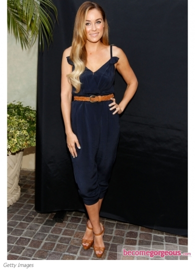 Lauren Corad Navy Jumpsuit