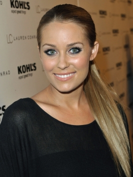 Lauren Conrad Straight Low Pony Hairstyle