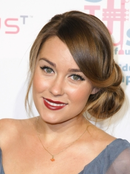 Lauren Conrad Twisted Side Bun