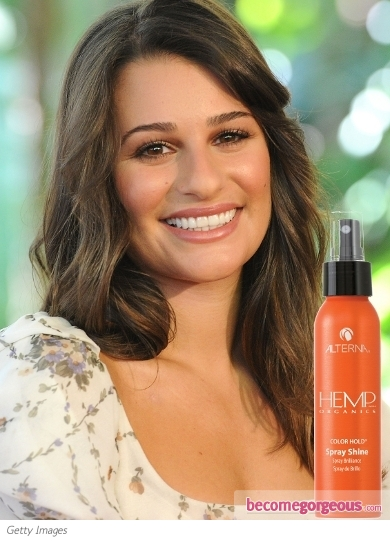 Lea Michele Favorite Hair Product