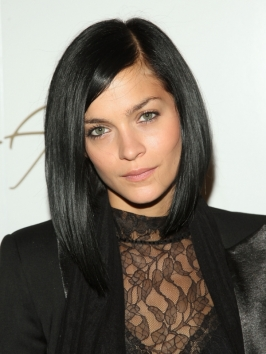 Leigh Lezark Sleek Bob Hairstyle