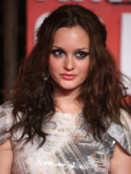 Leighton Meester Hairstyle at the 2009 MTV VMAs