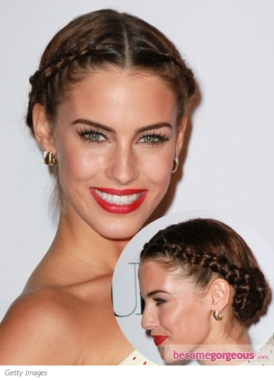Jessica Lowndes Braided Updo