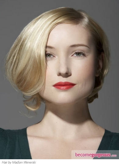 Lovely Medium Bob Hair Style