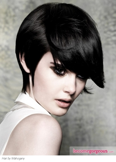 Flirty Short Haircut