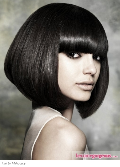 Medium Boxy Bob Haircut