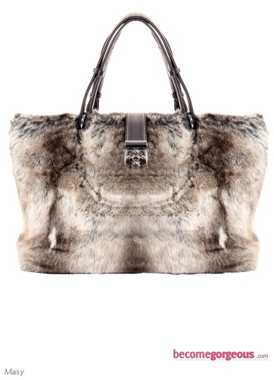 Maisy Oversized Faux Fur Shoulder Bag