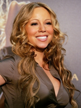 Mariah Carey Mermaid Wavy Hairstyle