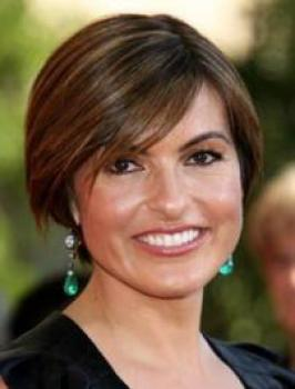 Mariska Hargitay with Short Hairstyle