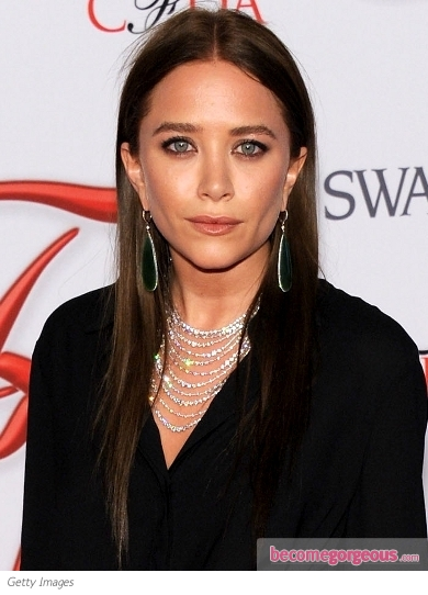 Mary-Kate Olsen's New Dark Brown Hair Color