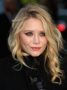 Mary-Kate Olsen Tousled Hairstyle