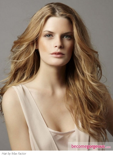 Stylish Long Romantic Hair Style