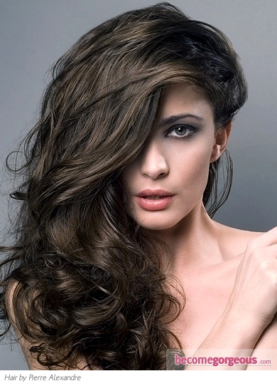 medium brown hair color pictures. Medium Ash Brown Hair Color