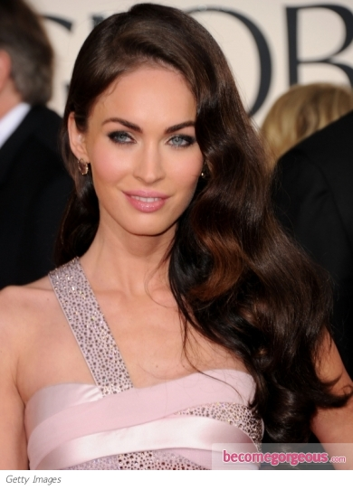 megan fox hairstyle 2011 golden globe awards