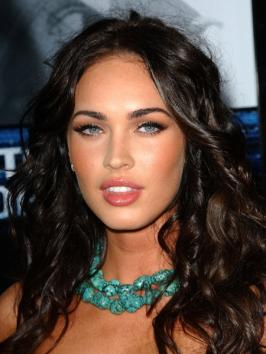 Megan Fox Long Curly Hairstyle