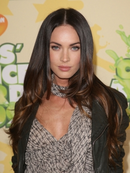 Megan Fox Hairstyle at the Kids' Choice Awards