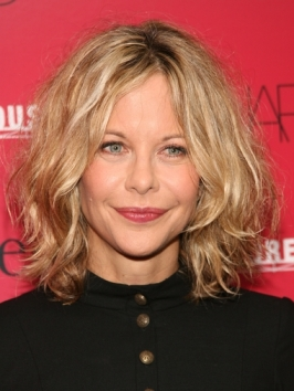 Meg Ryan Mid-legnth Layered Hairstyle