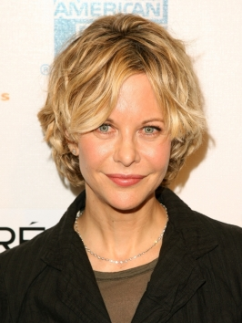 Ryan Hair Styles on Meg Ryan S Short Layered Hairstyle   Meg Ryan Hairstyles Pictures