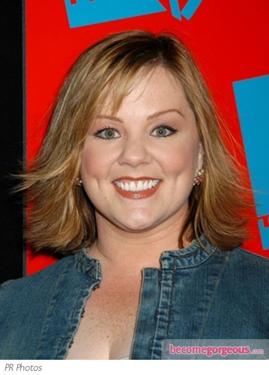 Melissa McCarthy Flipped Layers Hairstyle