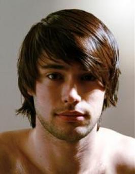 Long Hair Cuts   on Medium Long Boy Hairstyle   Mens Hairstyles Pictures