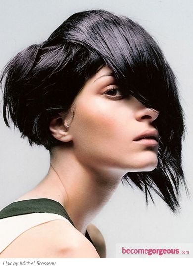 Stylish Choppy Layered Haircut