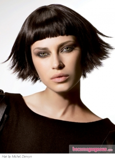 Medium Heavy Layered Hair Style