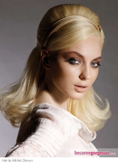 Retro-Inspired Classy Hair Style - Long Hairstyles Pictures