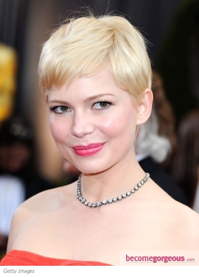 Michelle Williams' Hairstyle from the 2012 Oscars