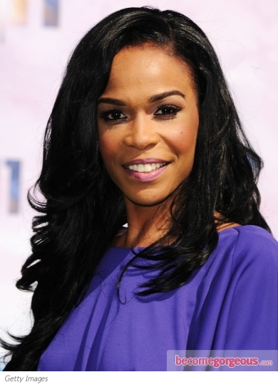 Michelle Williams Long Hairstyle 2011 BET Awards